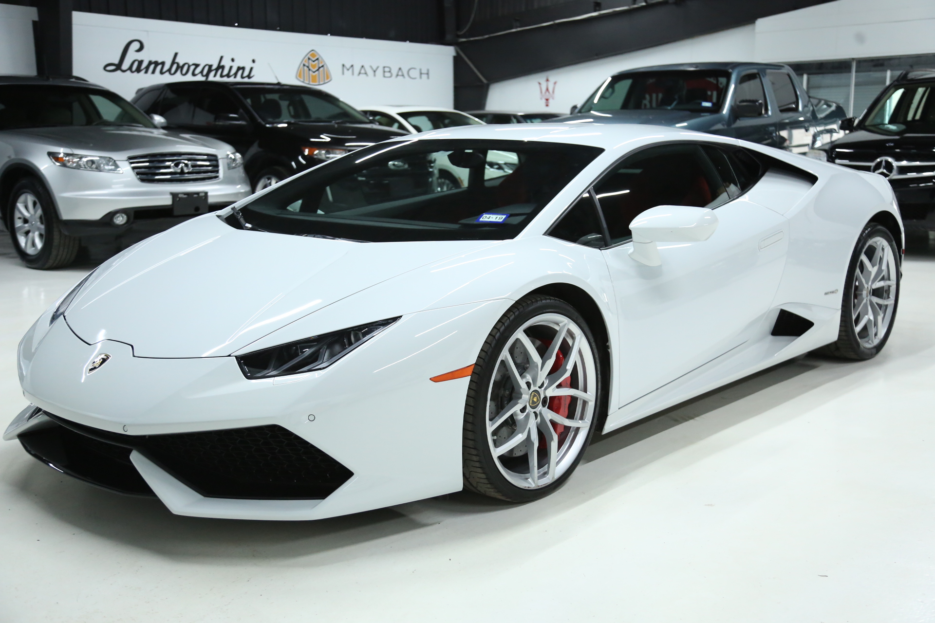 2015 Lamborghini Hurucan Lp 610 4 Only 5k Orignial Miles White On