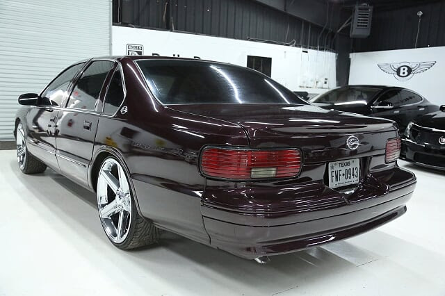 "1996 Chevrolet Impala SS 22"" IROC Wheels AND 17"" Factory OEMs Only"